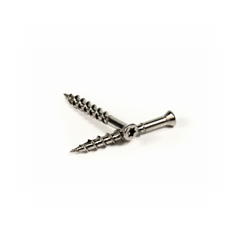 "1 1/2"" Stainless Screws 350pk - T15 Star Drive"