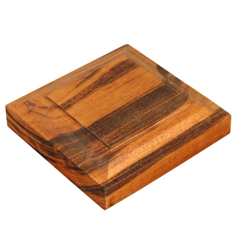 "Tigerwood Post Cap 5.5"" x 5.5"""