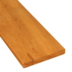 1x6 One-Sided Pregrooved Tigerwood Decking