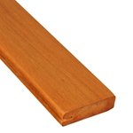 5/4x4 One-Sided Pregrooved Tigerwood Decking