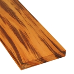 5/4x6 One-Sided Pregrooved Tigerwood Decking
