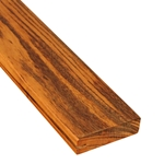 1 x 4 +Plus Tigerwood One-Sided Pregrooved