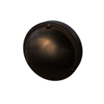 Lunar Deck Post  Light, Antique Bronze Cast Brass