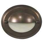 Lunar Step Light, Antique Bronze